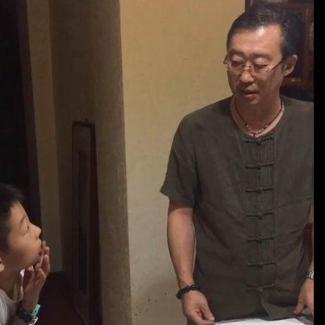 2019-08  少儿国画 济南李永钧墨铭轩少儿国画班
