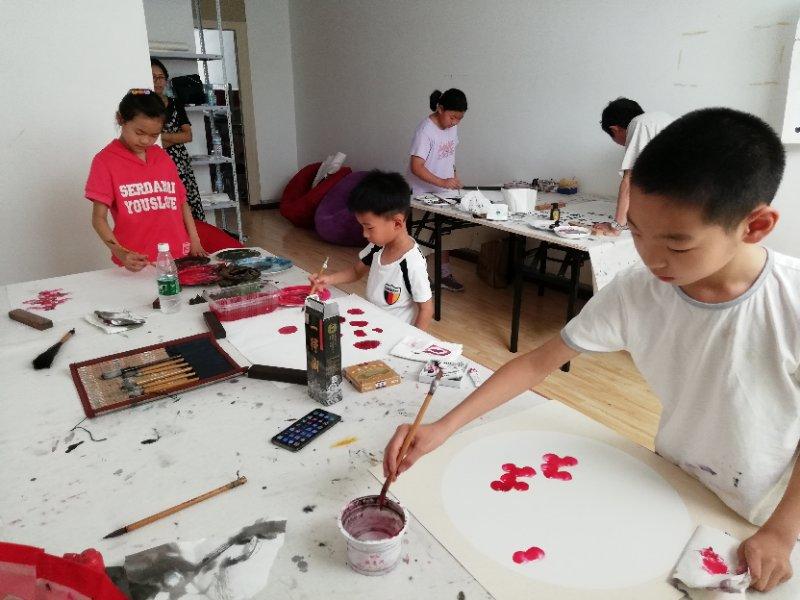 联系方式 济南少儿儿童国画学习培训班